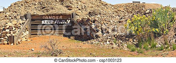 altes , bergwerk, tagtraum - csp1003123