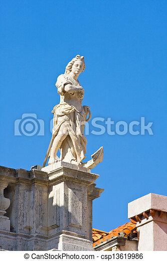 Altstadt, Dubrovnik, Croatia - csp13619986