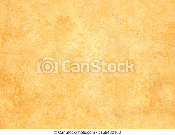 altes , papier, grunge, hintergrund - csp9432163