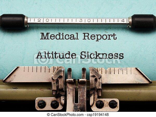 Altitude sickness - csp19194148