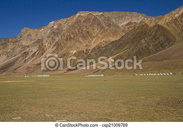 altitudine alta, tende - csp21009769