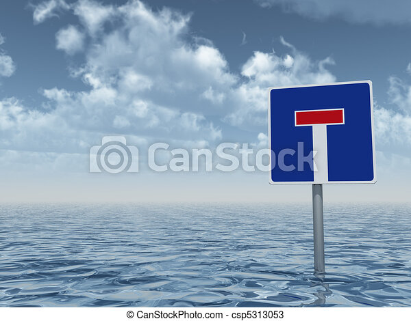 Agua alta - csp5313053