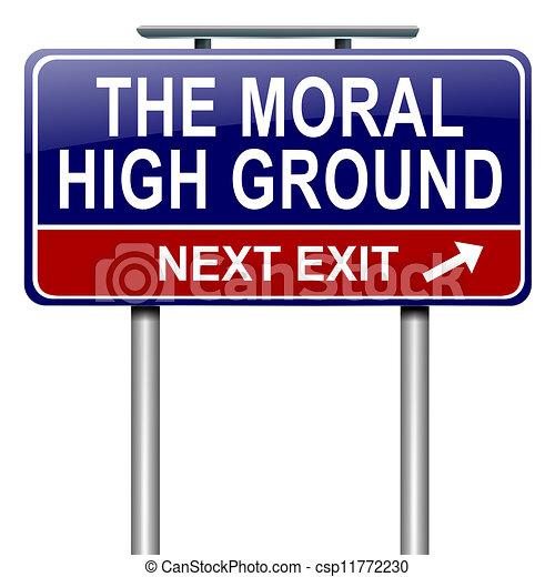 alto, ground., morale - csp11772230