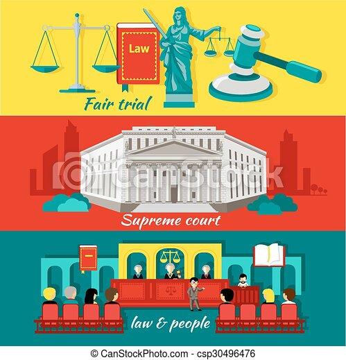 Concepto la alta corte y la justicia - csp30496476