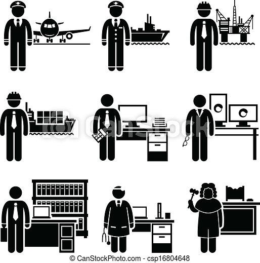 Trabajos profesionales de altos ingresos - csp16804648