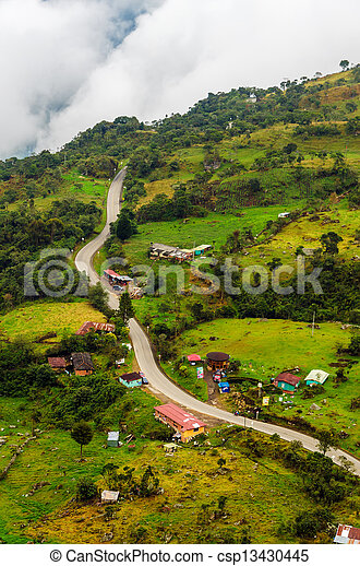 alto, rurale, altitudine, strada - csp13430445
