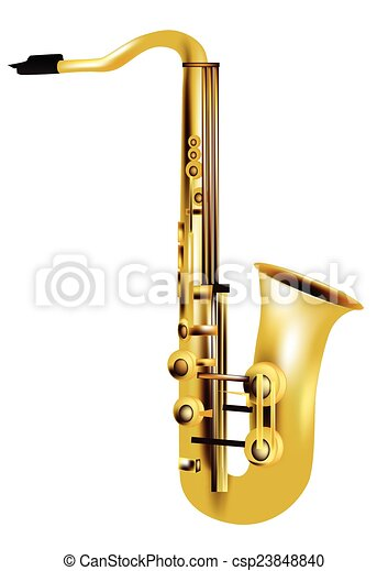 alto saxophone - csp23848840