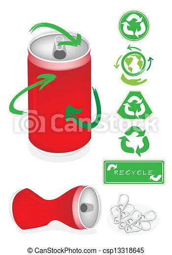 Aluminio s mbolo lata reciclar mundo excepto - Simbolo de aluminio ...