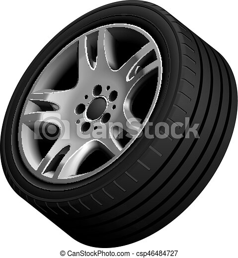 Aluminium alloy wheel - csp46484727
