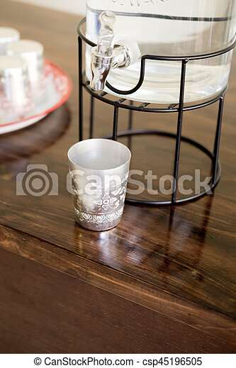 aluminium cup for drink water