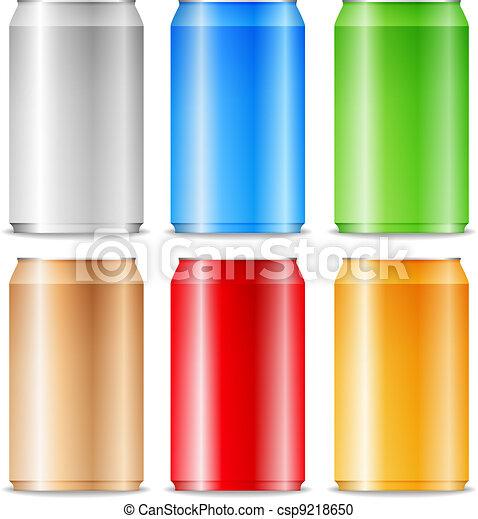 Aluminum cans - csp9218650