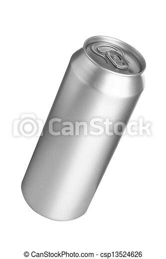 Aluminum drink can - csp13524626