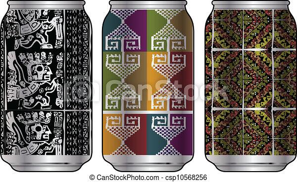 Aluminum packaging for beverages - csp10568256