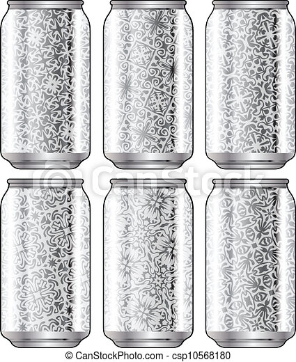 Aluminum packaging for beverages - csp10568180