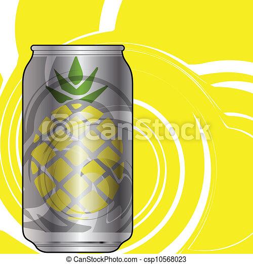 Aluminum packaging for beverages - csp10568023