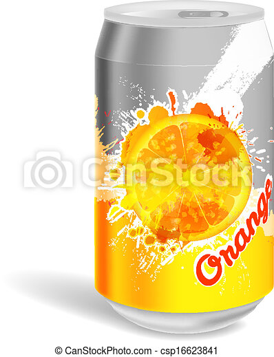 Aluminum soda can - csp16623841