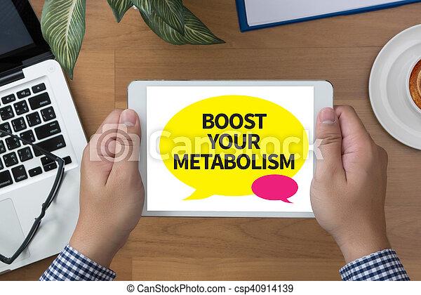 Bote su metabolismo - csp40914139