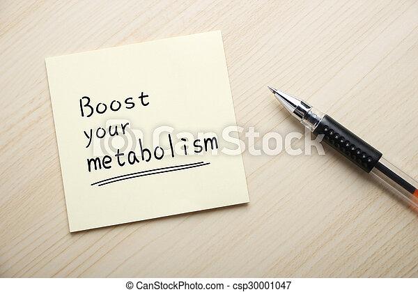 Aumente tu metabolismo - csp30001047
