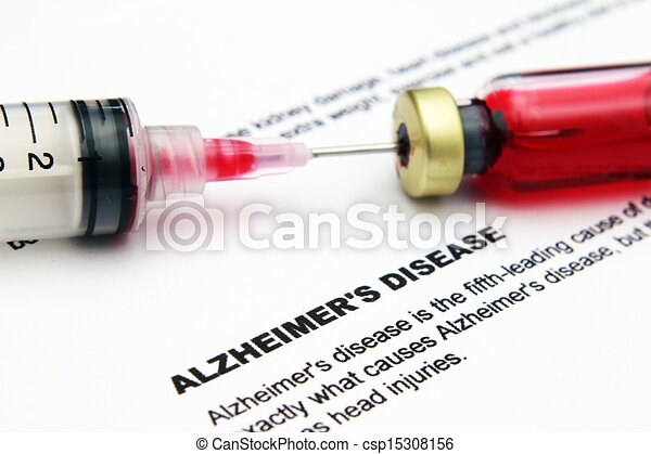 alzheimer, 疾病 - csp15308156