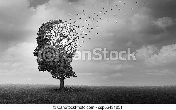 Alzheimer Disease - csp56431051