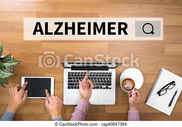 alzheimer - csp40847384