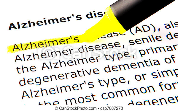 Alzheimer's disease - csp7087278