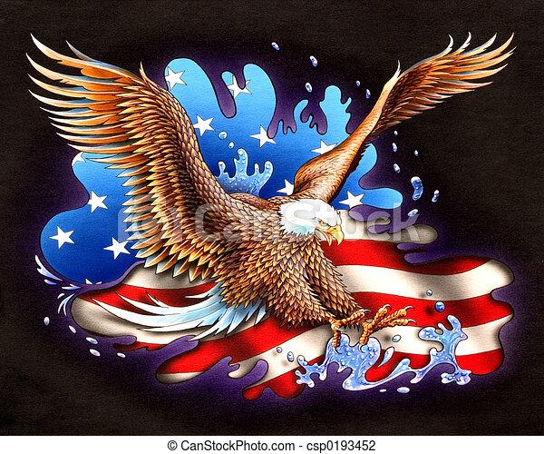 américain - csp0193452
