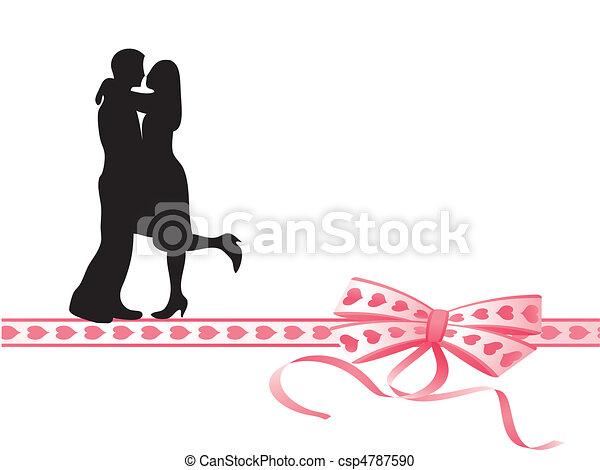 Amantes en la cinta - csp4787590