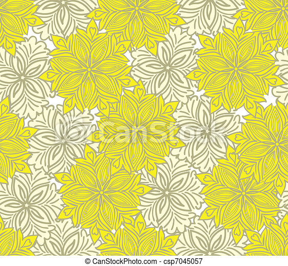 Un fondo amarillo y amarillo - csp7045057