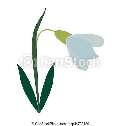 amaryllis flower decorative icon - csp44733129