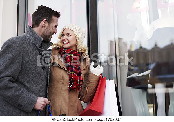 Amazed by big sales in the stores - csp51782067