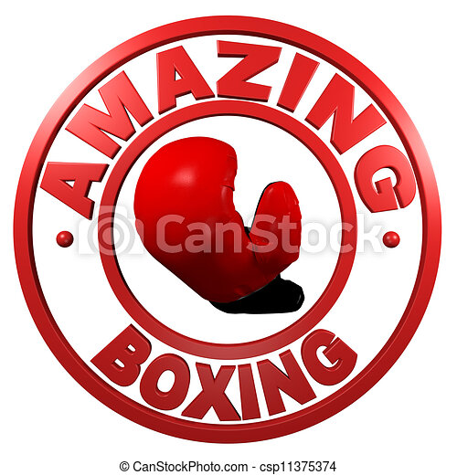 Amazing Boxing circular design - csp11375374