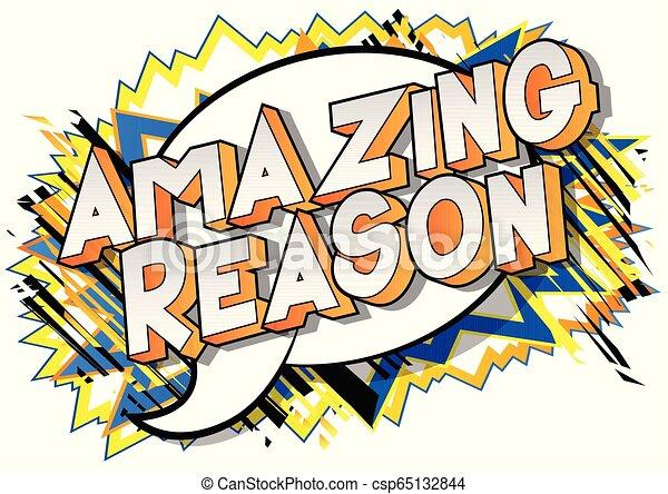 Amazing Reason - csp65132844