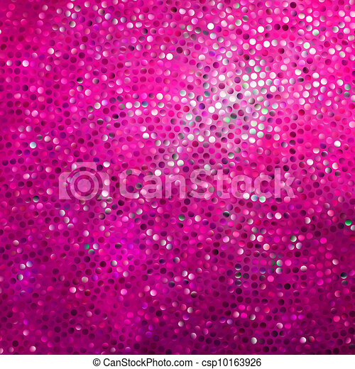 Amazing template design on pink glittering. EPS 8 - csp10163926