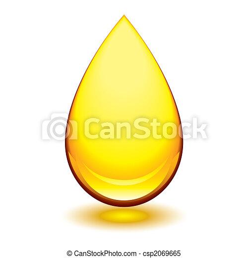 amber droplet - csp2069665