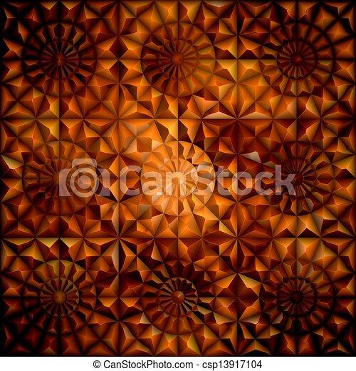 Amber. Seamless pattern.  - csp13917104