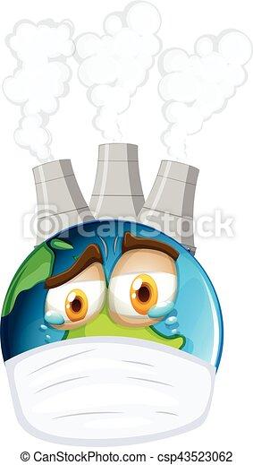 Ambiant Thème Pollution La Terre Air