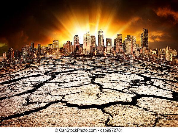 ambientale, disastro - csp9972781