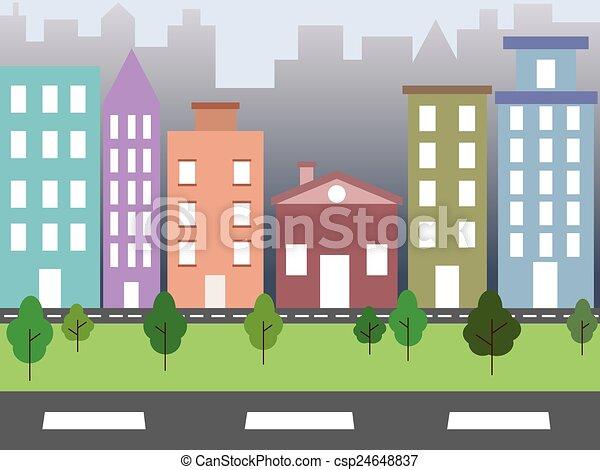 ambiente, città - csp24648837