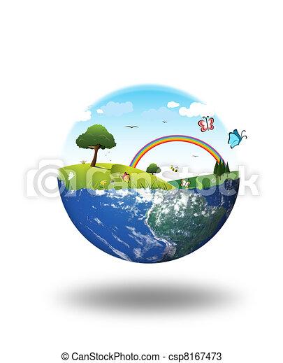 Un concepto de ambiente limpio - csp8167473