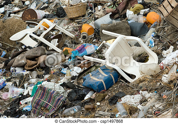 Contaminación de medio ambiente - csp1497868