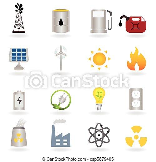 Energía alternativa limpia y medio ambiente - csp5879405