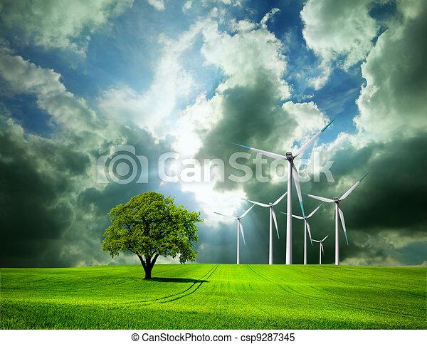 Medio ambiente - csp9287345