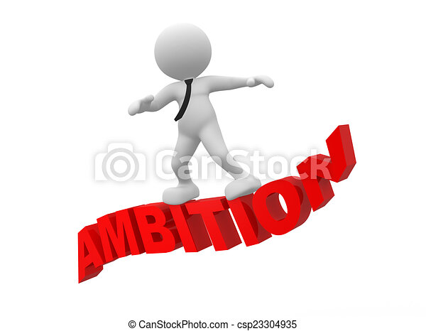 Ambition - csp23304935