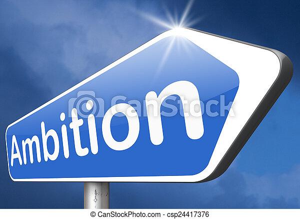 ambition - csp24417376