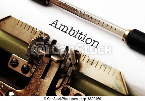 Ambition - csp18622469
