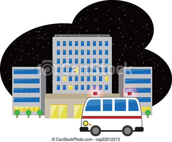 Ambulance and hospital  - csp22012213