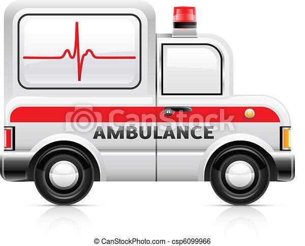 ambulance car - csp6099966