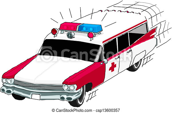 Ambulance car - csp13600357