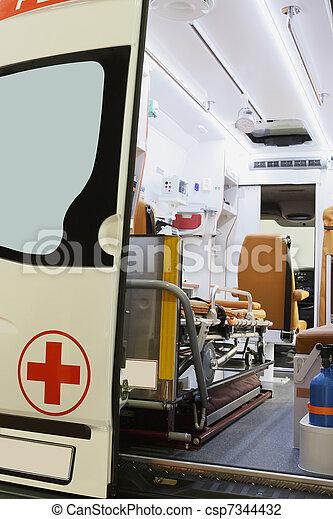 ambulance car - csp7344432